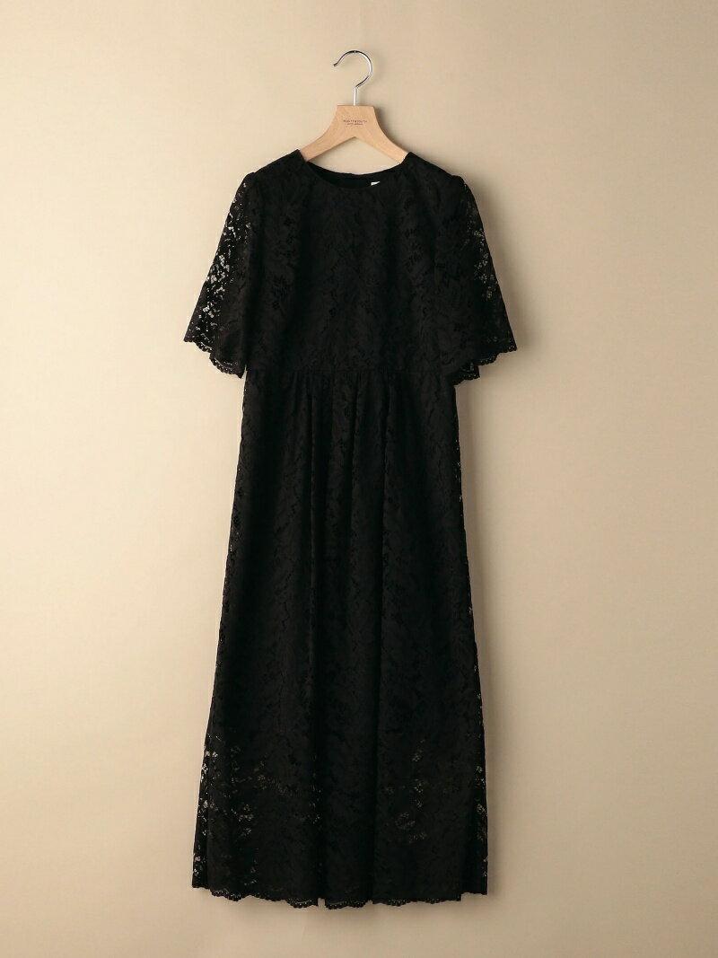 [Rakuten BRAND AVENUE]BY DRESS フラワーレースロングドレス BEAUTY & YOUTH UNITED ARROWS ビューティ&ユース ユナイテッドアローズ ワンピース【送料無料】