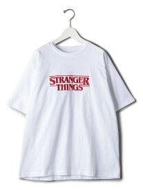 【別注】 <STRANGER THINGS> TEE 1/Tシャツ BEAUTY & YOUTH UNITED ARROWS ビューティ&ユース ユナイテッドアローズ カットソー Tシャツ レッド【送料無料】[Rakuten Fashion]