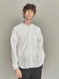 [Rakuten Fashion]BYクリアオックスフォードバンドカラーシャツ BEAUTY & YOUTH UNITED ARROWS ビューティ&ユース ユナイテッドアローズ シャツ/ブラウス 長袖シャツ ホワイト【送料無料】