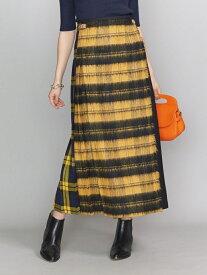 [Rakuten Fashion]<O'NEILofDUBLIN>パッチワークキルトスカート BEAUTY & YOUTH UNITED ARROWS ビューティ&ユース ユナイテッドアローズ スカート ロングスカート イエロー【送料無料】