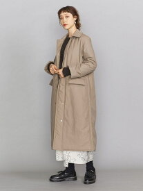 [Rakuten Fashion]BY タフタキルトステンカラーコート BEAUTY & YOUTH UNITED ARROWS ビューティ&ユース ユナイテッドアローズ コート/ジャケット ステンカラーコート ベージュ ブラック【送料無料】