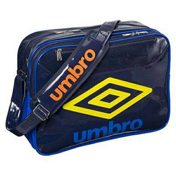 【アンブロ】 エナメルショルダ— L エナメルバッグ UJS1304 [カラー:ネイビー×ブルー] [容量:約27L] #UJS1304-NVBU 【スポーツ・アウトドア:スポーツ・アウトドア雑貨】
