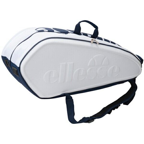 【エレッセ】 ラケットバッグ(テニスラケット6本用) [カラー:ホワイト] #EAC6520-W 【スポーツ・アウトドア:その他雑貨】