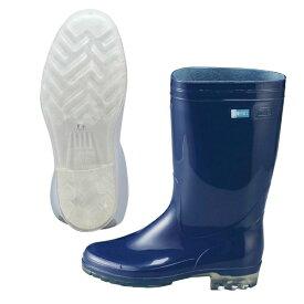 【アキレス】 アキレス 長靴 タフテックホワイト62(透明底) ブル— 23.5cm 【キッチン用品:業務用器具:長靴・白衣】【アキレス 長靴 タフテックホワイト62(透明底) ブルー】