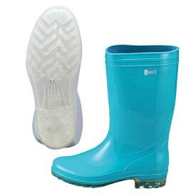 【アキレス】 アキレス 長靴 タフテックホワイト62(透明底) グリーン 23.5cm 【キッチン用品:業務用器具:長靴・白衣】【アキレス 長靴 タフテックホワイト62(透明底) グリーン】