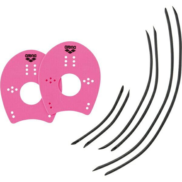 【500円クーポン(要獲得) 2/27 9:59まで】 ハンドパドル [カラー:ピンク] [サイズ:M(W14.9×H18.4cm)] #ARN-4435-PNK 【アリーナ: スポーツ・アウトドア その他雑貨 】【ARENA】