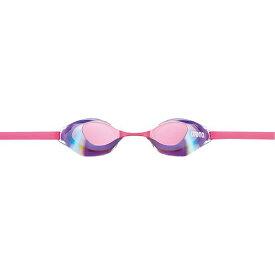 【アリーナ】 くもり止めスイミンググラス ノンクッションタイプ(ミラー加工) [サイズ:フリー] [カラー:ピンク×ラベンダ×ピンク] #AGL-130M-PLV 【スポーツ・アウトドア:その他雑貨】