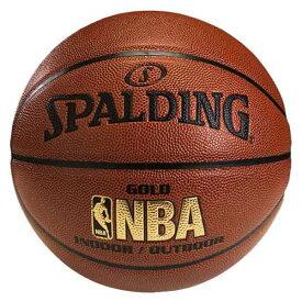 【スポルディング】 GOLD(ゴールド) レザ— バスケットボール 6号球 #74-614Z 【スポーツ・アウトドア:その他雑貨】