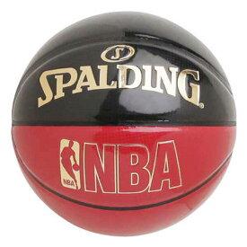 【スポルディング】 アンダーグラス バスケットボール 7号球 [カラー:ブラック×レッド] #74-653J 【スポーツ・アウトドア:その他雑貨】