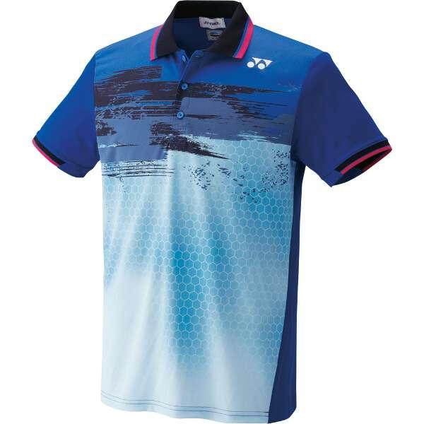 【ヨネックス】 UNI ポロシャツ(フィットスタイル) [カラー:ブラストブルー] [サイズ:XO] #10162-786 【スポーツ・アウトドア:スポーツ・アウトドア雑貨】