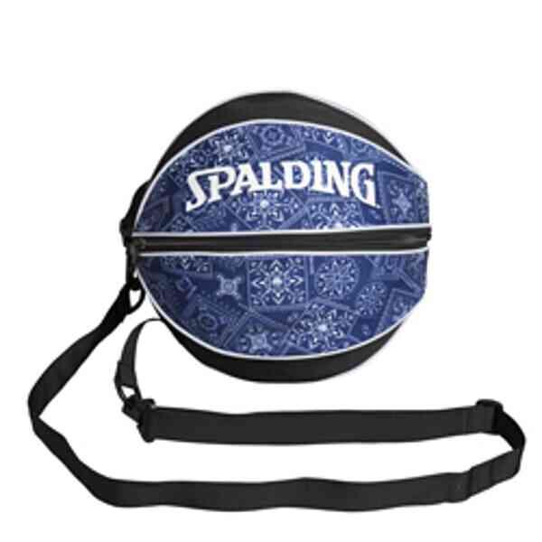 【スポルディング】 ボールバッグ ペイズリー(バスケットボール1個入れ) #49-001PL 【スポーツ・アウトドア:スポーツ・アウトドア雑貨】