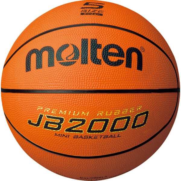 【モルテン】 JB2000軽量 ミニバスケットボール 5号球 #B5C2000L 【スポーツ・アウトドア:スポーツ・アウトドア雑貨】