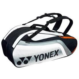 【ヨネックス】 ラケットバッグ6(リュック付) テニスラケット6本用 BAG1812R [カラー:ブラック×ホワイト] #BAG1812R-245 【スポーツ・アウトドア:テニス:ラケットバッグ】