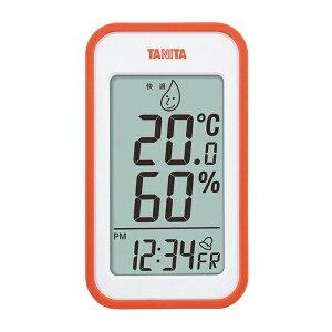 【タニタ】 タニタ デジタル温湿度計 TT-559(OR) オレンジ 【キッチン用品:調理用具・器具:計量器:温度計】【タニタ デジタル温湿度計】