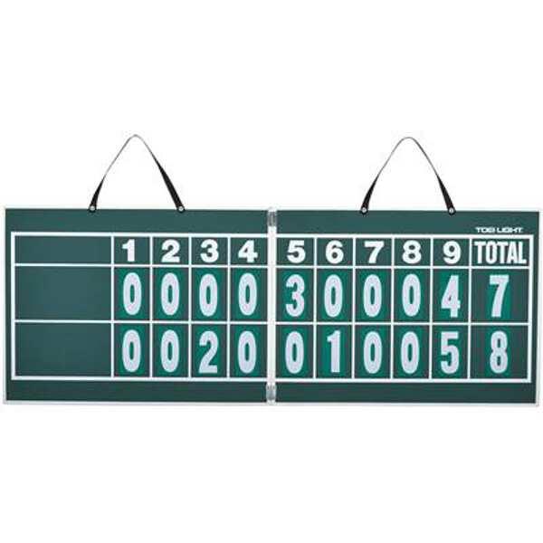 【トーエイライト】 ハンディー野球得点板(マグネット数字板付) [サイズ:44.5×119×厚さ1cm] #B-2467 【スポーツ・アウトドア:スポーツ・アウトドア雑貨】