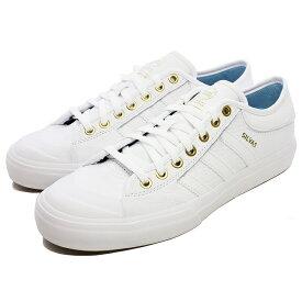 【アディダス】 アディダス スケートボーディング マッチコート [サイズ:28.5cm(US10.5)] [カラー:ホワイト×ゴールド×アイスブルー] #CG4277 【靴:メンズ靴:スニーカー】【CG4277】