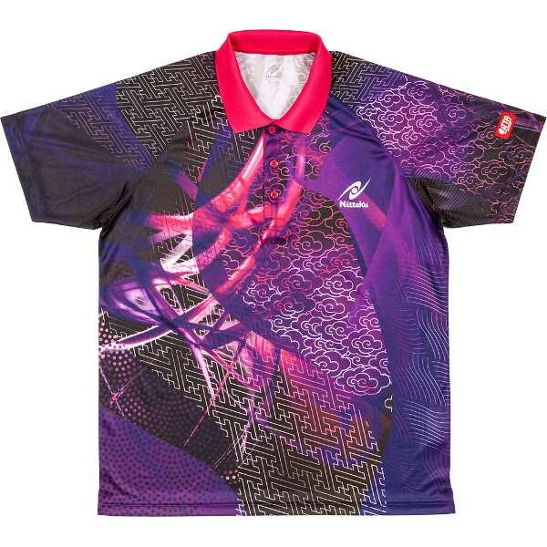 【ニッタク】 クラウダーシャツ ゲームシャツ [サイズ:L] [カラー:パープル] #NW-2177-50 【スポーツ・アウトドア:スポーツ・アウトドア雑貨】
