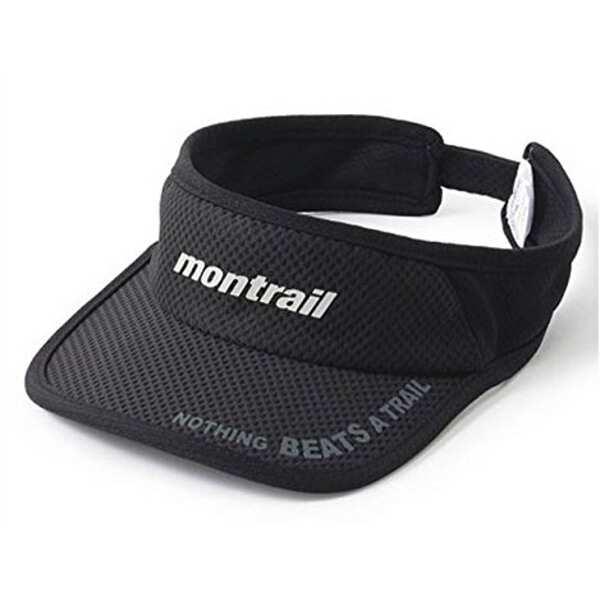 【モントレイル】 NOTHING BEATS A TRAIL ランニングバイザ— [カラー:ブラック] #XU3981-010 【スポーツ・アウトドア:その他雑貨】