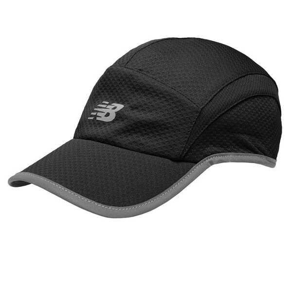 【ニューバランス】 5パネルパフォーマンスキャップ [カラー:ブラック] #500142-BK 【スポーツ・アウトドア:その他雑貨】