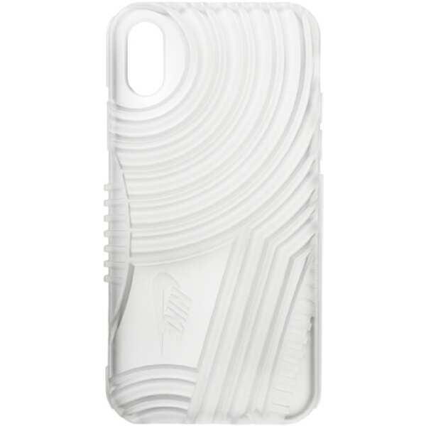 【ナイキ】 エアフォース1 iPhoneX対応フォンケース [カラー:トランスルーセント] #DG0025-923 【スポーツ・アウトドア:その他雑貨】