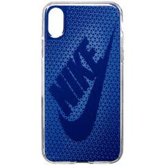 【ナイキ】 グラフィック スウッシュ iPhoneX対応フォンケース [カラー:シグナルブルー×ジムブルー] #DG0027-918 【スポーツ・アウトドア:その他雑貨】