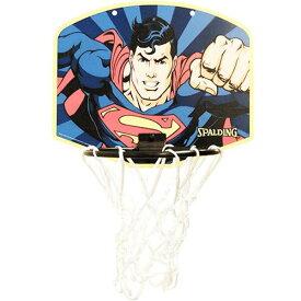 【スポルディング】 マイクロミニバックボード(ミニボール付) スーパーマン [サイズ:縦23.8cm×横28.7cm] #5001Super 【スポーツ・アウトドア:その他雑貨】