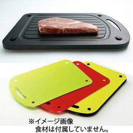 【富士商】 フェリオ アルミ解凍板 プロフボード (3枚のまな板付) F7502 【キッチン用品:調理用具・器具:まな板】