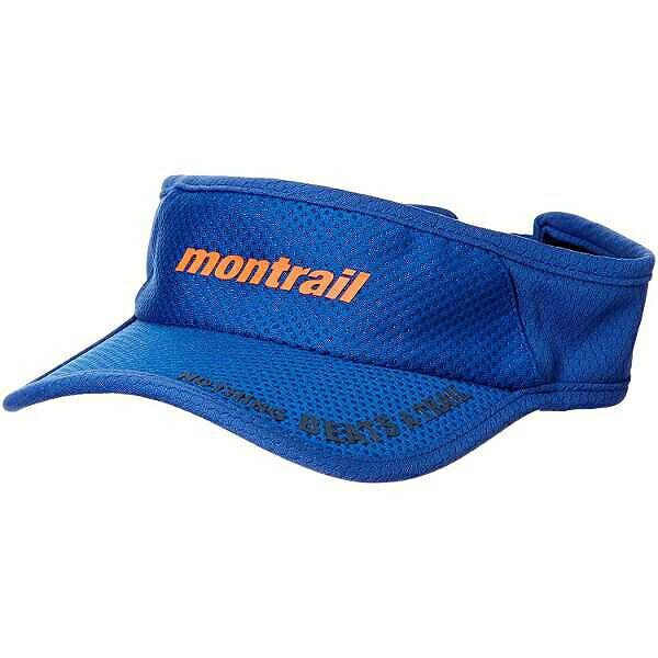 【モントレイル】 NOTHING BEATS A TRAIL ランニングバイザ— [カラー:アズール] #XU1088-437 【スポーツ・アウトドア:アウトドア:ウェア:メンズウェア:帽子】