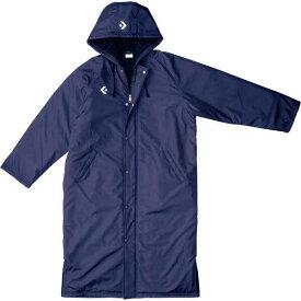 【コンバース】 ロングコート [サイズ:OXO] [カラー:ネイビー] #CB162601-2900 【スポーツ・アウトドア:スポーツウェア・アクセサリー:ベンチコート:メンズベンチコート】