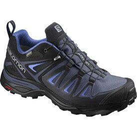 【サロモン】 X ウルトラ 3 GTX ゴアテックス W レディース [サイズ:24.0cm] [カラー:クラウンブルー×インディアインク] #L40002700 【スポーツ・アウトドア:登山・トレッキング:靴・ブーツ】