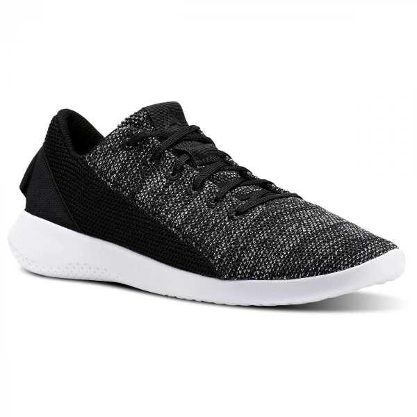 【リーボック】 アダラ レディース [サイズ:24.5cm] [カラー:ブラック×ホワイト] #CN2122 【靴:レディース靴:スニーカー】【CN2122】