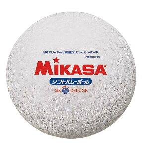 【ミカサ】 ソフトバレーボール ファミリー・トリムの部試合球 [カラー:ホワイト] #MS78DXW 【スポーツ・アウトドア:バレーボール:ボール:ソフトバレーボール】
