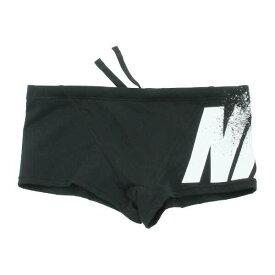 【ナイキ】 ブロックロゴ ショートスパッツ [サイズ:L] [カラー:ブラック×ホワイト] #2982714-01 【スポーツ・アウトドア:水泳:競技水着:メンズ競技水着】