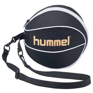 【ヒュンメル】 バスケットボールケース(7号球収納可) [カラー:ブラック×ゴールド] #HFB7072-9038 【スポーツ・アウトドア:バスケットボール:ボールバッグ】