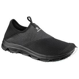 【5%offクーポン(要獲得) 9/20 0:00〜9/23 23:59】 RX モック 4.0 リカバリー スリッポン [サイズ:27.0cm] [カラー:ブラック×ファントム] #L40673600 【サロモン: 靴 メンズ靴 スリッポン】【SALOMON RX MOC 4.0】