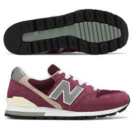 【割引クーポン有】 【送料無料】 ニューバランス M996BR [カラー:バーガンディ] [サイズ:25cm (US7) Dワイズ] 【ニューバランス: 靴 メンズ靴 スニーカー】【NEW BALANCE New Balance M996】