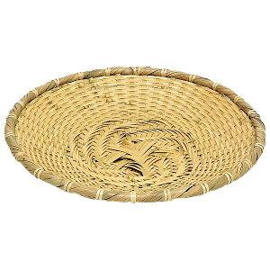 【萬洋】 白竹そばザル 大 24cm 19-440L 【キッチン用品:調理用具・器具:ざる:竹製】【白竹そばザル】