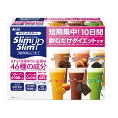 スリムアップスリムシェイク10食入り【アサヒフードアンドヘルスケア:健康食品ダイエットフードドリンク】