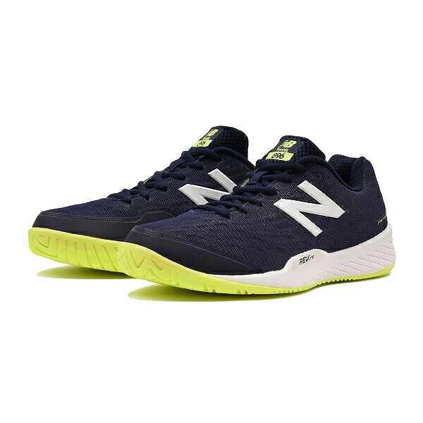 【ニューバランス】 MCH896 テニスシューズ(オールコート用) [サイズ:27.0cm(2E)] [カラー:ネイビー] #MCH896H2 【スポーツ・アウトドア:その他雑貨】