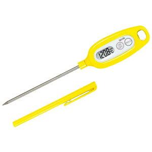 【タニタ】 タニタ デジタル 温度計 TT-508NYL イエロ? 【キッチン用品:調理用具・器具:計量器:温度計】【タニタ デジタル 温度計】