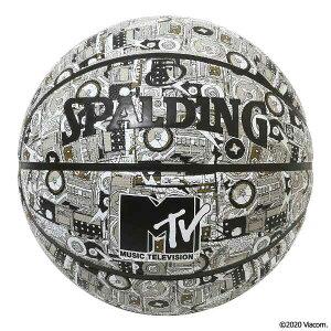 【4000円offなどクーポン発行中 6/24 9:59まで】 【送料込み(沖縄・離島を除く)】 MTV ミックステープ ラバー バスケットボール 7号球 #84-199J 【スポルディング: スポーツ・アウトドア バスケット