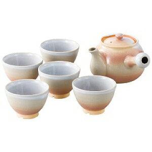 【萩焼】 茶器揃(茶コシ付) 【キッチン用品:食器・食卓用品:食器:和食器:カップ・グラス類:湯呑み】