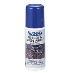 【ニクワックス】 ヌバックスポンジA ヌバック・スエード用撥水剤 #EBE771 125ml 【スポーツ・アウトドア:その他雑貨】