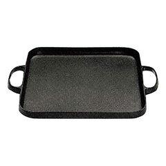 【及源鋳造】 盛栄堂 焼肉鍋 角 CA-31 【キッチン用品:調理用具・器具:グリルパン:IH/ガス両方対応】【盛栄堂】