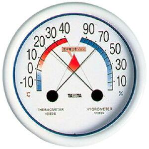 【タニタ】 食中毒注意ゾーン付 温湿度計 No.5488 【キッチン用品:調理用具・器具:計量器:温度計】
