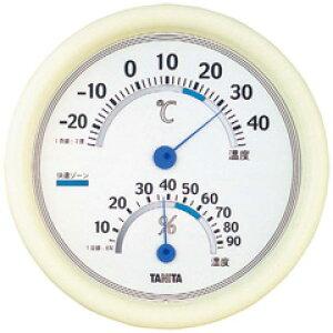 【タニタ】 温湿度計 ホワイト TT-513 WH 【キッチン用品:調理用具・器具:計量器:温度計】【温湿度計】