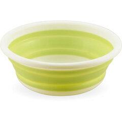 おりたたみ式洗い桶丸型33cm【カクセー:キッチン用品:洗物・掃除・衛生用品:水切り用品】