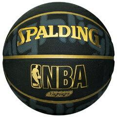 【スポルディング】 ゴールドハイライト バスケットボール 7号球 [カラー:ブラック×ゴールド] #73-229Z 【スポーツ・アウトドア:スポーツ・アウトドア雑貨】