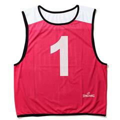 【スポルディング】 ビブス NO.6‐11 6枚セット [カラー:ピンク] [サイズ:フリー] #SUB130720 【スポーツ・アウトドア:その他雑貨】