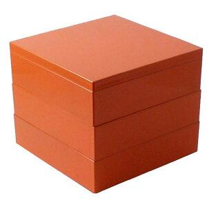 【福井クラフト】 Party Box 18cmパーティーボックス(9個仕切付) オレンジ 【キッチン用品:お弁当グッズ:お弁当箱】